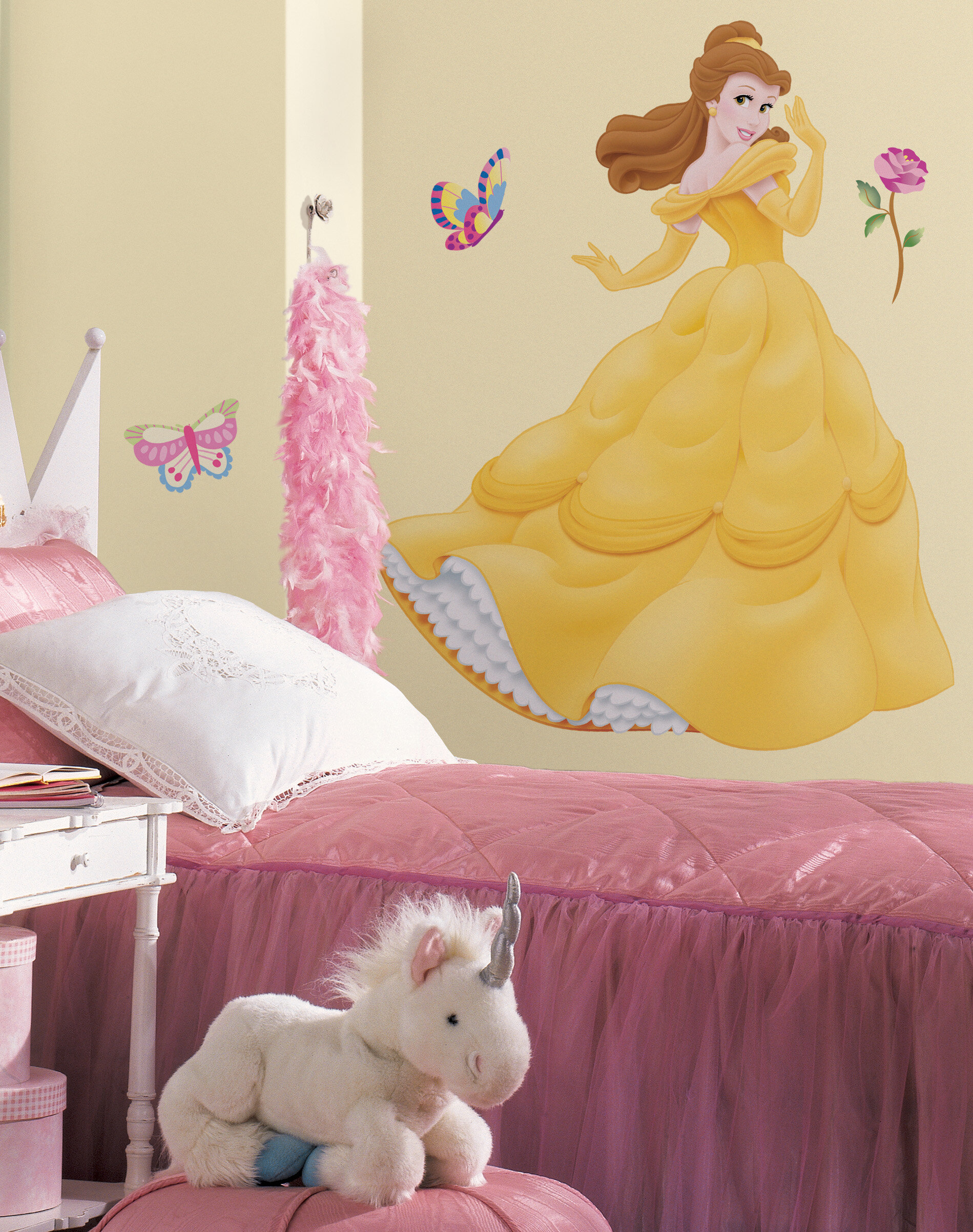 Wallhogs Disney Belle Cutout Wall Decal | Wayfair