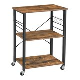 Draves 3 Tier Casters Kitchen Cart by Gracie Oaks