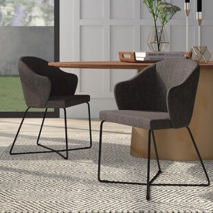 Moyle Upholstered Arm Chair (Set of 2) Mercury Row