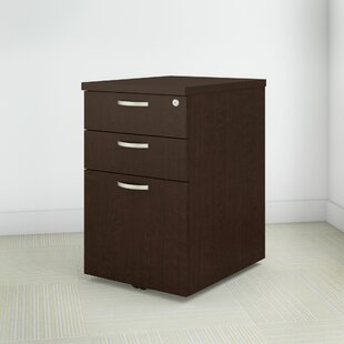 Easy Office 3-Drawer Mobile Vertical Filing Cabinet