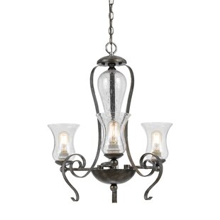 Fleur De Lis Living Addison 3-Light Shaded Chandelier