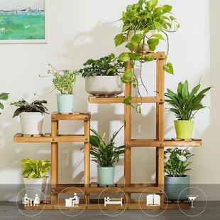 Derose Rectangular Multitiered Plant Stand