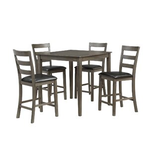 Emestine 5 Piece Dining Set Charlton Home