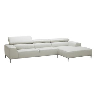 Yablonski Leather Sofa & Chaise