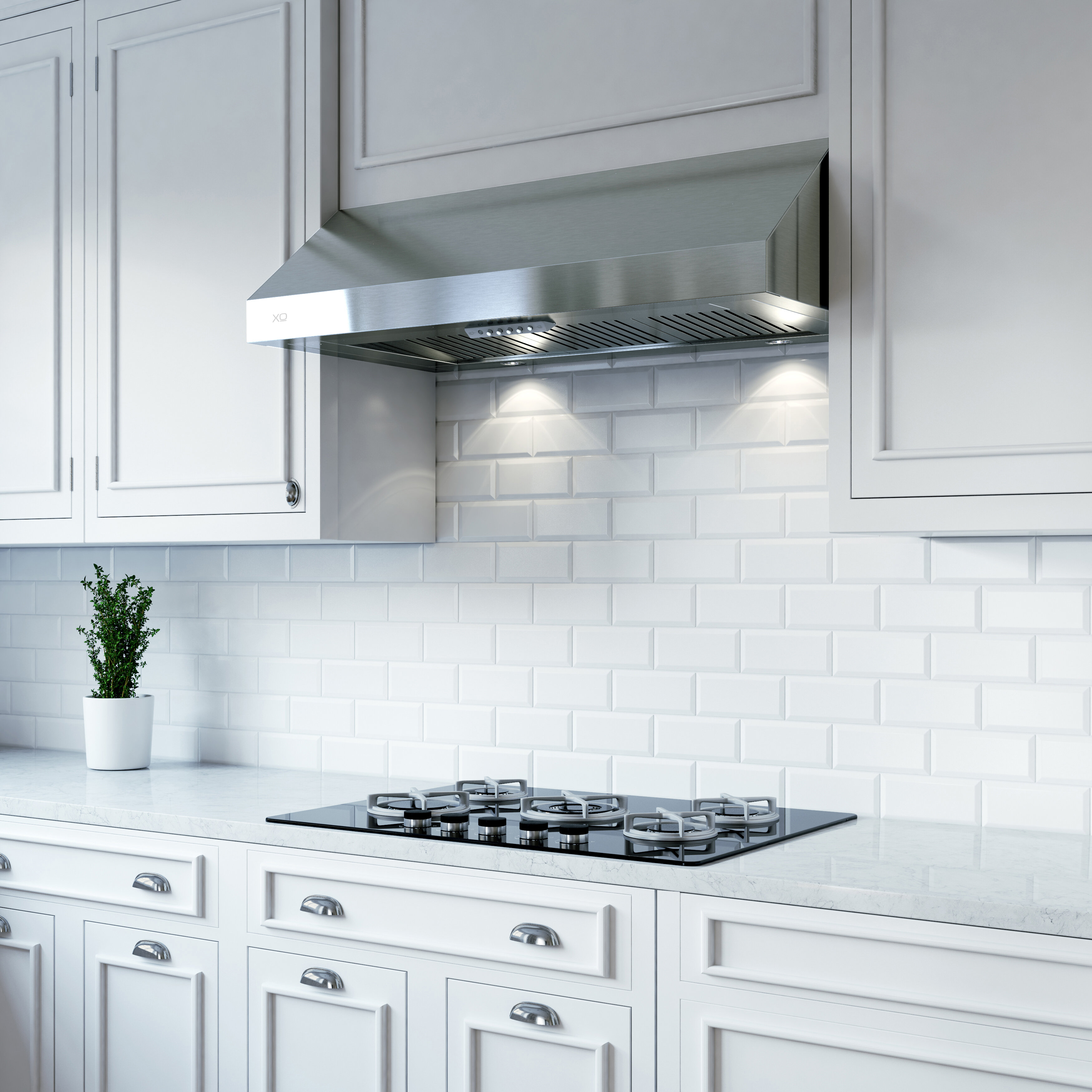 Xo Appliance 36 Fabriano 395 Cfm Convertible Under Cabinet Range Hood Reviews Wayfair