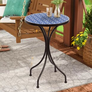 Madera Metal Side Table