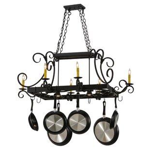 Caiden 6 Light Downlights Pot Rack