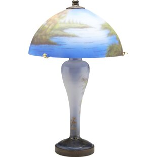 Affordable Price Reverse Painted 19 Table Lamp By AA Importing