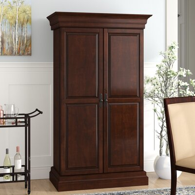 Raleigh Bar Cabinet with Wine Storage & Oilton Bar Cabinet with Wine Storage u0026 Reviews | Birch Lane