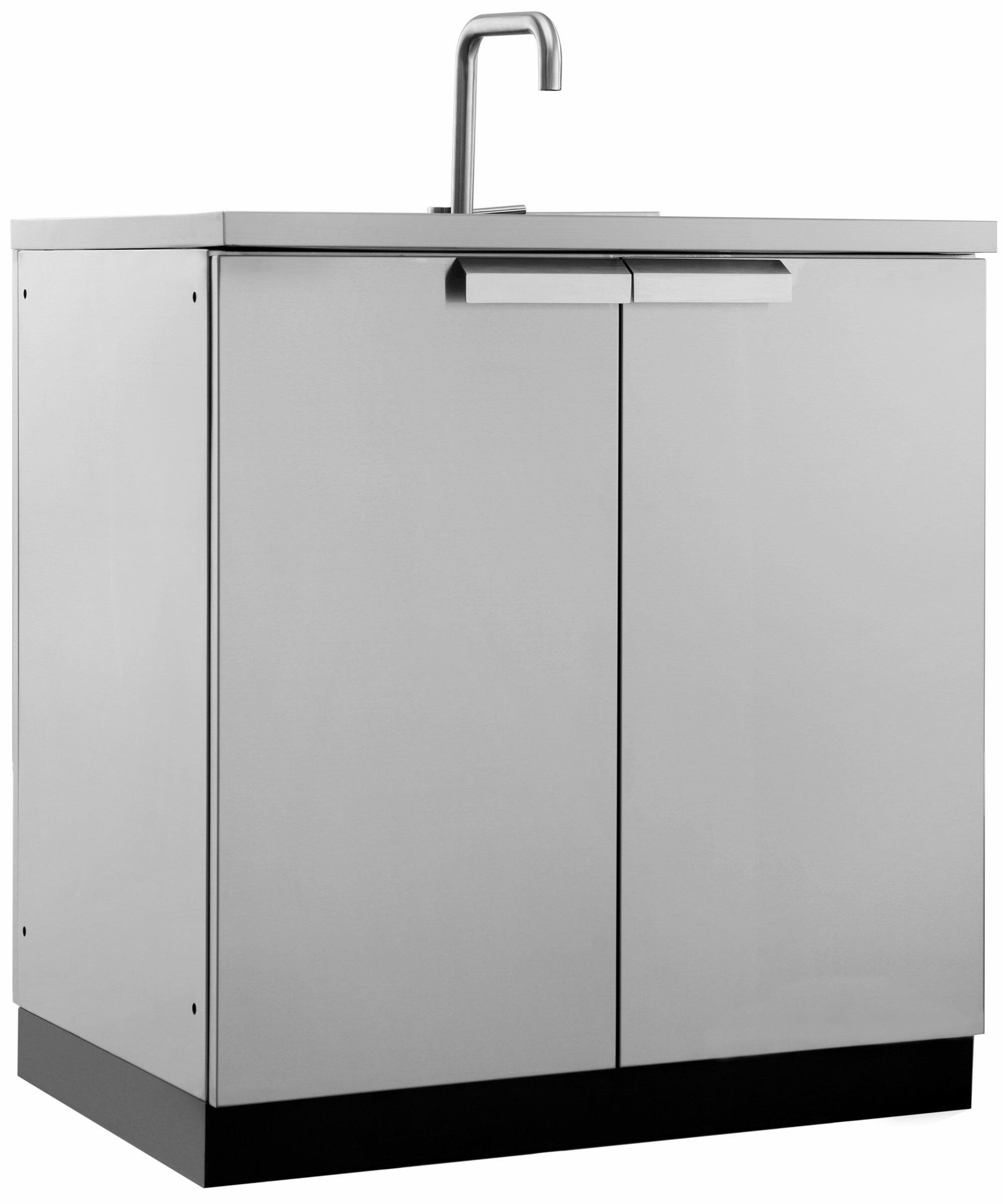 Newage Products Outdoor Kitchen Freestanding Sink Reviews Wayfair