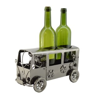 Mini Van 2 Bottle Tabletop Wine Rack by W..