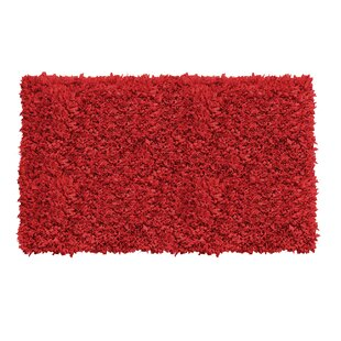 Kaylyn Hand-Knotted Red Area Rug by Ebern Designs