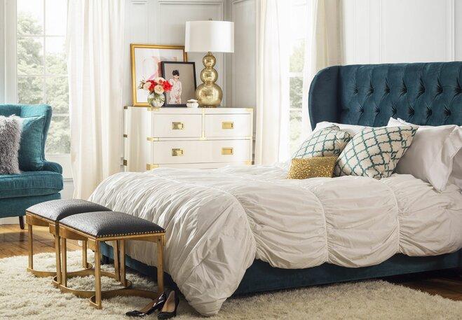 glam bedroom - Glam Bedroom