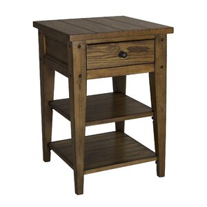 Menifee End Table With Storage