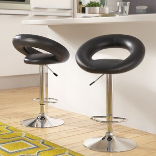 Zipcode Design Wella 32'' Swivel Bar Stool (Set of 2)