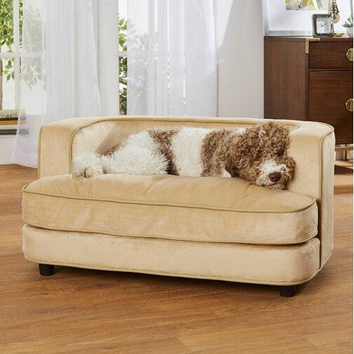 Shellie Ultra Plush Dog Sofa
