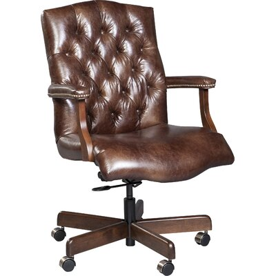 Stanford Executive Chair Fairfield Chair Upholstery Color: 9626 Brown