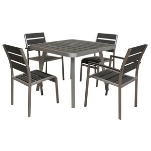 Boraam Industries Inc Santorini 5 Piece Dining Set