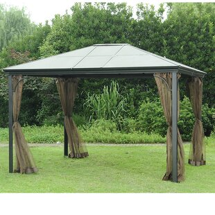Replacement Mosquito Netting For 10 W X 12 D PC Single Top Gazebo