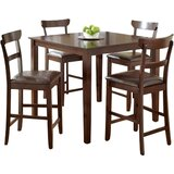 Cotswold 5 Piece Counter Height Dining Set by Red Barrel Studio®