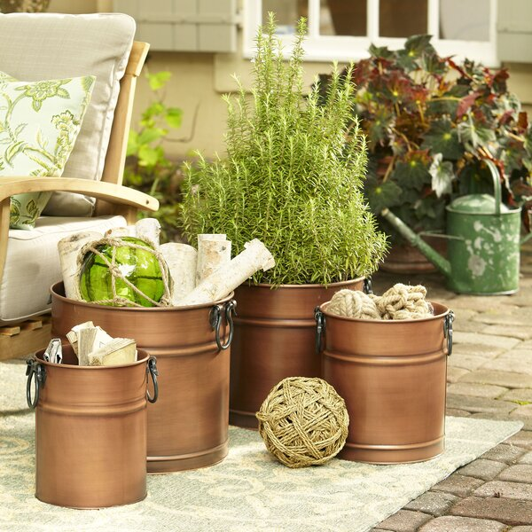 Plant Care Soil Accessories Novelty Metal Hanging Flower Basket Planter Round Pot Garden Container Garden Patio Pneumec In
