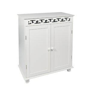 March Fretwork 65 X 76cm Free-standing Cabinet By Brambly Cottage