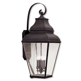 Southport 4-Light Outdoor Wall Lantern By Darby Home Co Outdoor Lighting