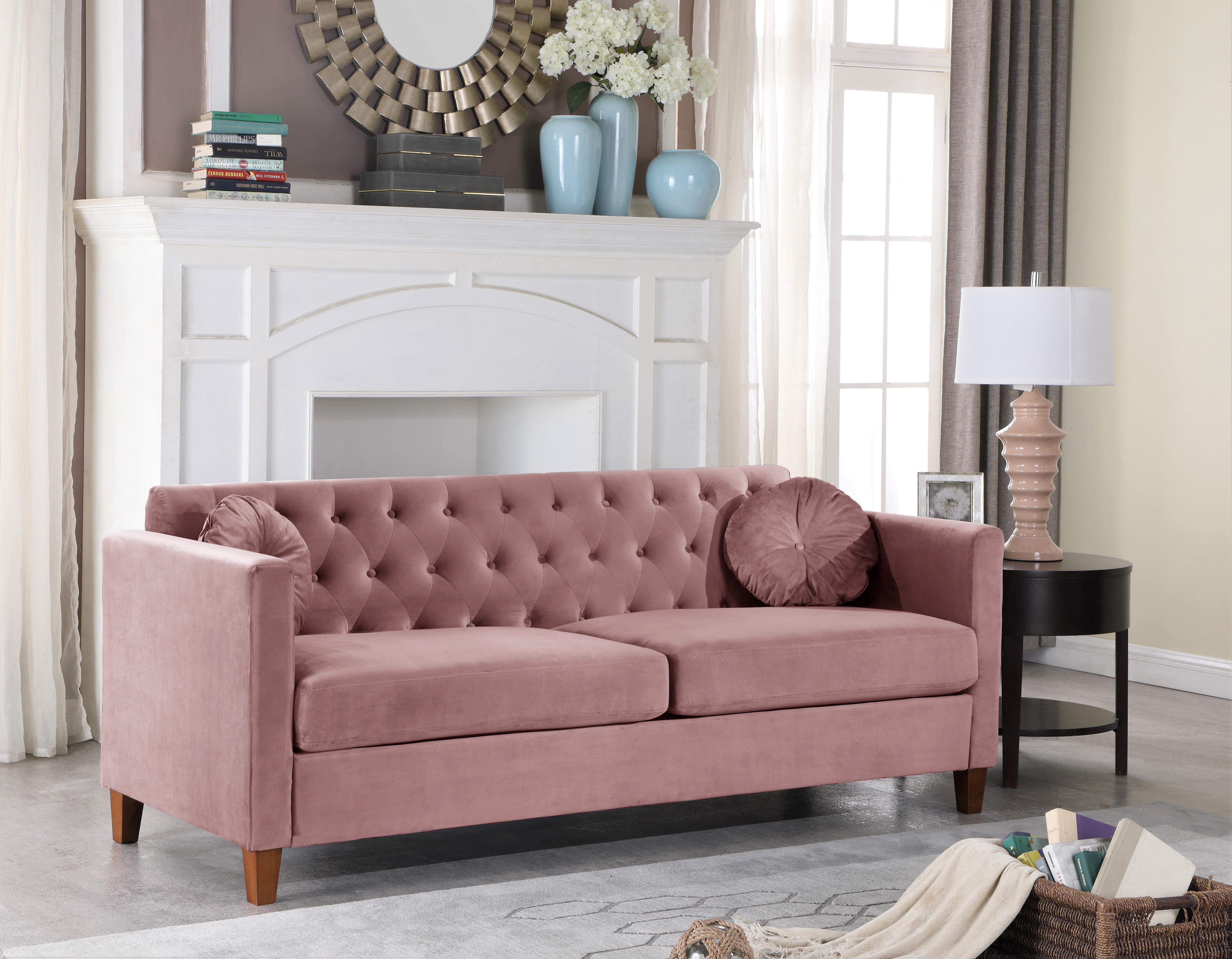 Wayfair Pink Velvet Sofas You Ll Love In 2021