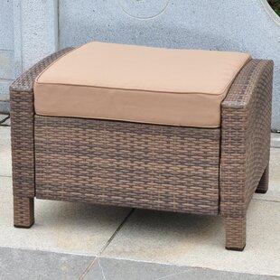 Katzer Ottoman with Cushion by Brayden Studio