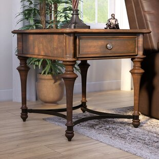 Foxworth End Table With Storage by Darby Home Co