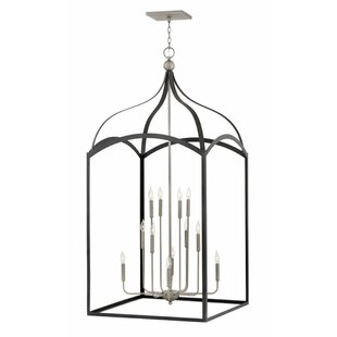 Clarendon Three Tier 12-Light Foyer Pendant by Hinkley Lighting