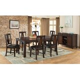 Agrihan 7 - Piece Counter Height Butterfly Leaf Dining Set by Red Barrel Studio®