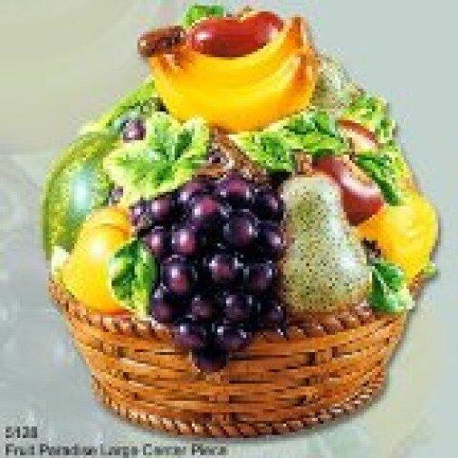 Abchomecollection Fruit Paradise Decorative 3d Center Ceramic Fruit Table Top Reviews Wayfair