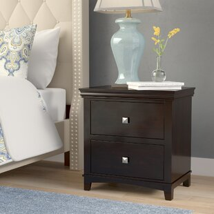 Buffalo 2 Drawer Nightstand