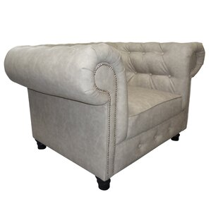 Ellisville Chesterfield Chair by Alcott Hill