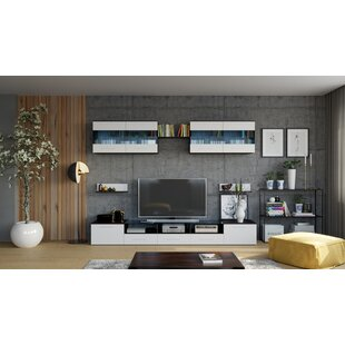 Easterbrooks 8 Piece Entertainment Center Set for TVs up to 70