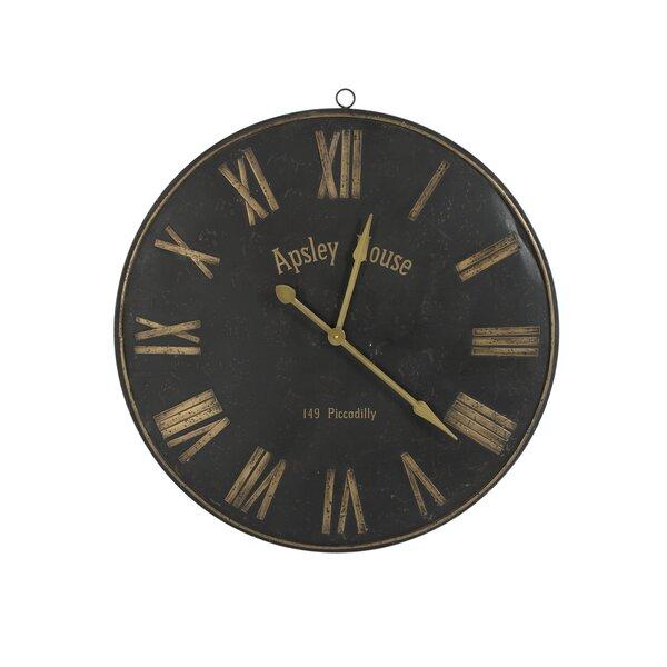 17 Stories Oversized Swinson 36 5 Wall Clock Wayfair Ca