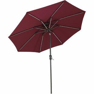 Dejon 9' Market Sunbrella Umbrella by Freeport Park
