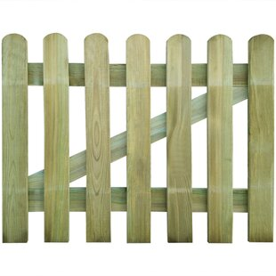 3' X 3' (1m X 0.8m) Wood Gate By Sol 72 Outdoor