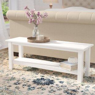 Gracie Oaks Urmee Wood Bench