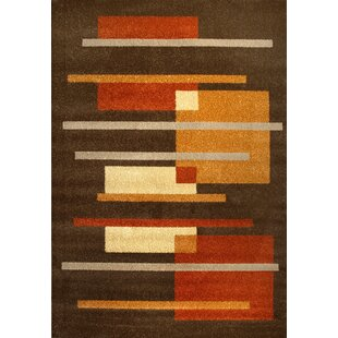 Lisio Brown Area Rug by dCor design