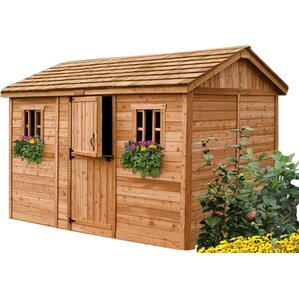 garden sheds 9 x 5 wood storage sheds youll love wayfair