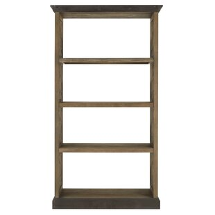 Cosmo Brushed Wood Standard Bookcase