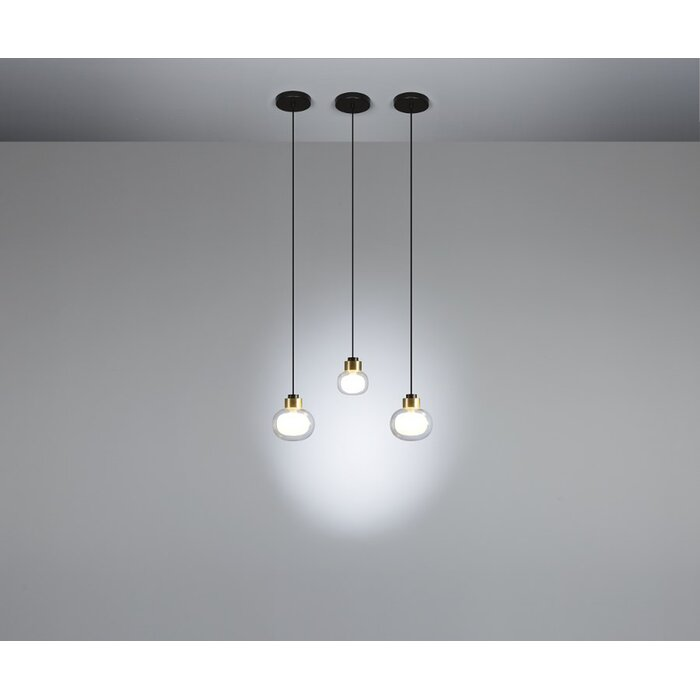 Tooy 1 Light Single Bulb Pendant
