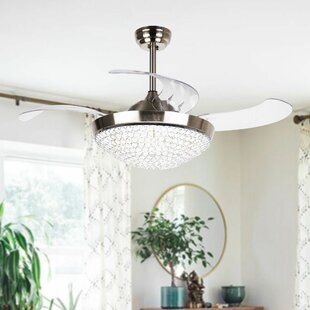 42 5 Brownesville 4 Blade Led Ceiling Fan With Remote