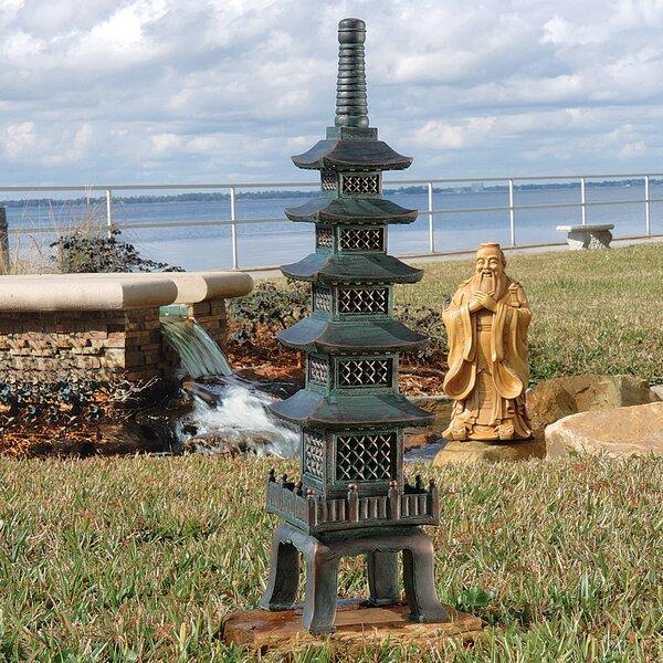 Asian Garden Art Part - 29: Design Toscano The Nara Temple Asian Garden Pagoda Garden Art U0026 Reviews    Wayfair
