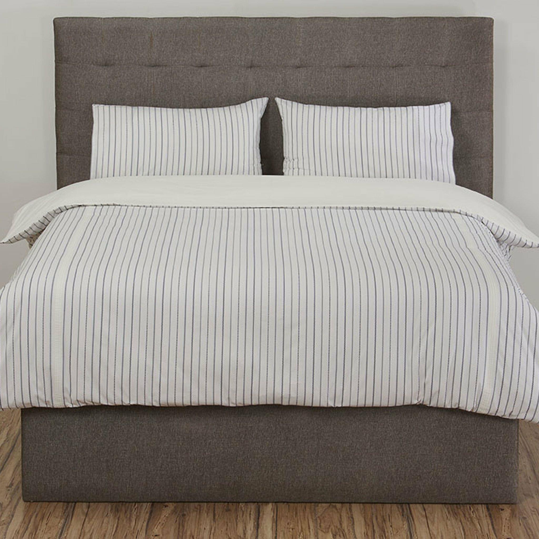 100/% Egyptian Cotton Sateen Stripes 300TC Duvet Cover Set//Quilt cover sets