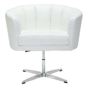 Ivy Bronx Charlie Swivel Barrel Chair