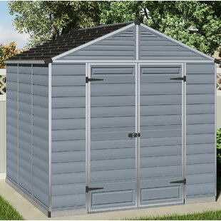 SkyLight™ 8 Ft. W X 8 Ft. D Plastic Storage Shed By Palram