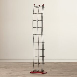 Metal Multimedia Wire Rack Ebern Designs